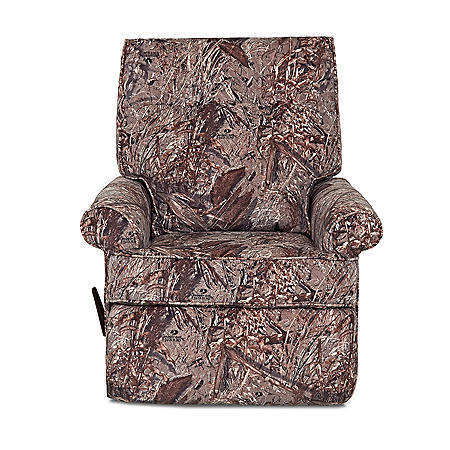 Clearwater Blind Rocking Recliner, Camo Duck