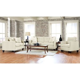 Klaussner Bryce Living Room Collection (Assorted Colors)