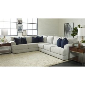 Klaussner Liza L-Shape Sectional