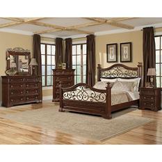 Prestige San Marino Queen Bedroom Group (5 pcs.)