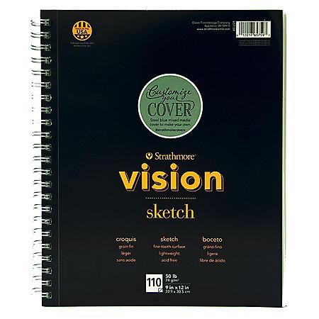 Strathmore Vison 300 Series Sketchbook 2 Pack
