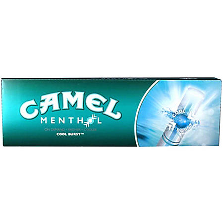Camel Menthol King Box (20 ct., 10 pk.) $0.50 Off Per Pack