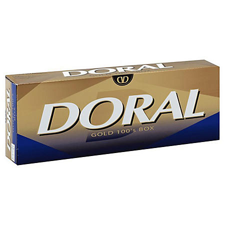 Doral Gold 100s Box (20 ct., 10 pk.)