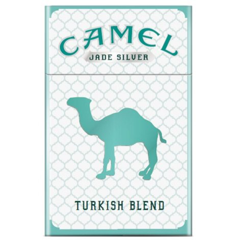 Camel Turkish Blend Jade Silver 85 1 Carton