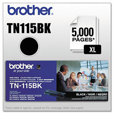 Brother TN115 Series Toner Cartridge, Select Color