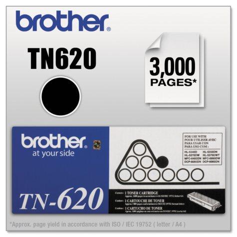 Brother - TN620 High Yield Cartridge, Black