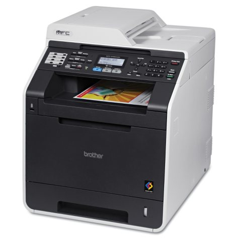 Brother MFC-9460CDN Laser All-in-One Printer with Duplex Printing