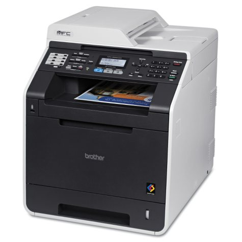 Brother MFC-9560CDW Wireless Laser All-in-One Printer with Duplex Printing
