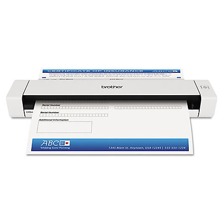 Brother DS620 Mobile Scanner - 600 x 600 dpi