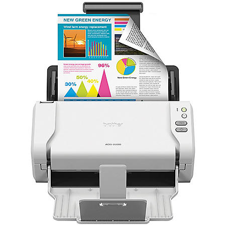 Brother ADS-2200 Scanner, 1200 x 1200dpi