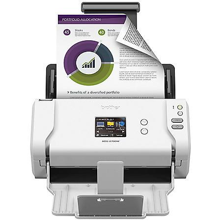 Brother ADS-2700W Scanner, 1200 x 1200dpi