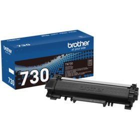 Brother TN730 Standard-Yield Toner, Black