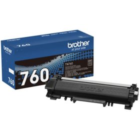 Brother TN760 High-Yield Toner, Black
