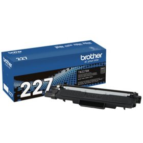 Brother TN227 High-Yield Toner, 3000 Page-Yield, Black