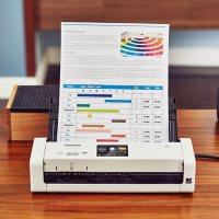 Brother ADS1700W Dual CIS Scanner, 1200 x 1200 dpi, 600 x 600 dpi
