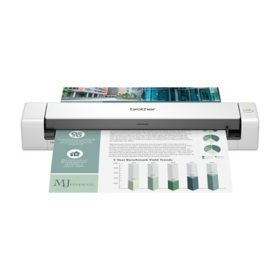 Brother DS-740D Duplex Compact Mobile Document Scanner, 600 dpi Optical Resolution, 1-Sheet Duplex Auto Document Feeder