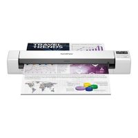 Brother DS-940DW Duplex and Wireless Compact Mobile Document Scanner, 600 dpi Optical Resolution, 1-Sheet Duplex Auto Document Feeder