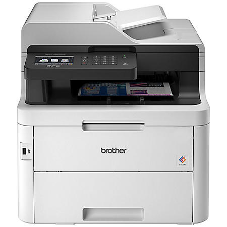 Brother MFC-L3750CDWB Multifunction Color Laser Printer