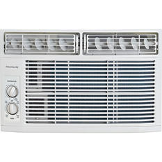 6,000 BTU 115V Window-Mounted Mini-Compact Air Conditioner with Mechanical Controls