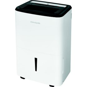 Frigidaire Energy Star 50-Pint Dehumidifier with Built-in Pump in White
