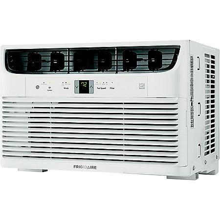 Frigidaire Energy Star 8,000 BTU 115V Cool Connect Smart Window Air Conditioner with Wi-Fi