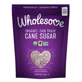 Wholesome Organic Cane Sugar (6 lbs.)
