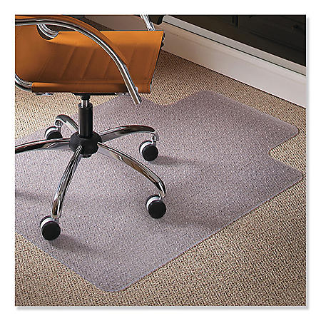 ES Robbins 36  x 48  Natural Origins Chair Mat With Lip For Carpet  sc 1 st  Samu0027s Club : es robbins chair mat - lorbestier.org