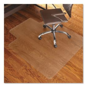 ES Robbins? Economy Series Chair Mat for Hard Floors, 45 x 53, Clear