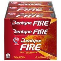 Dentyne Fire Spicy Cinnamon Sugar Free Gum (12 pk.)