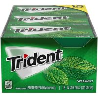 Trident Spearmint Sugar-Free Gum (210 pc.)