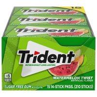 Trident Watermelon Twist Sugar Free Gum (15 pk.)