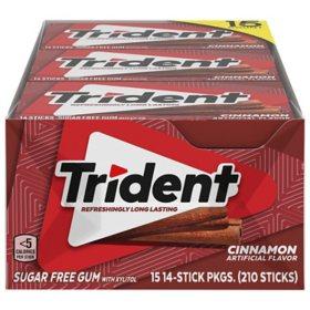 Trident Cinnamon Sugar-Free Gum (14 ct., 15 pks.)