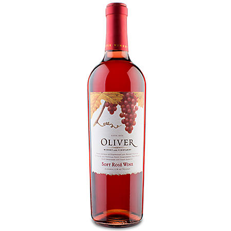 Oliver Winery Soft Rosé Wine (750 ml)