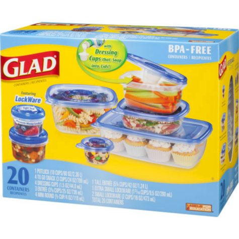 GladWare? Containers Variety Pack - 20 ct.