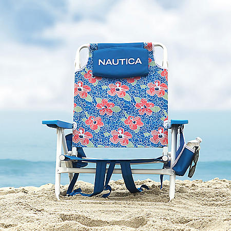 Nautica Beach Chair 2-Pack, Mosaic Flower