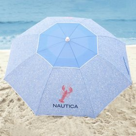 Nautica Beach Umbrella, Lobster Tile
