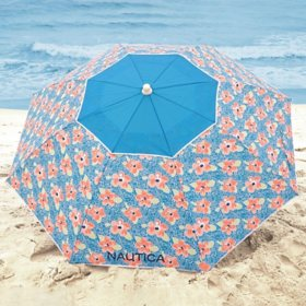 Nautica Beach Umbrella, Mosaic Flower