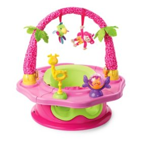 Summer Infant Deluxe SuperSeat Island Giggles - Girl