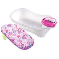 Summer Infant Newborn to Toddler Bath Center & Shower - Girl