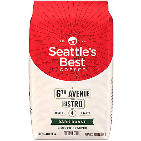 Seattle's Best Level 4 Ground Coffee (32 oz.)