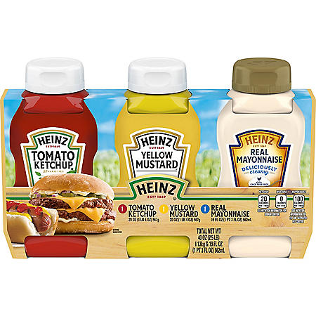 HEINZ Condiments Pinic Pack (3 pk.)