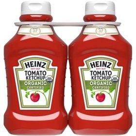 Heinz Organic Tomato Ketchup (44 oz., 2 pk.)