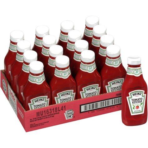 Heinz Tomato Ketchup (14 oz. bottle, 16 pk.)