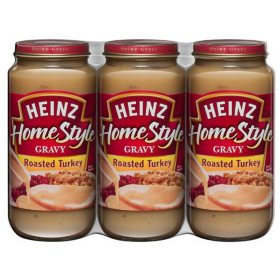 Heinz HomeStyle Roasted Turkey Gravy (18 oz., 3 pk.)