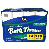 Truly Soft Ultra Premium Bath Tissue, 2-Ply Giant Roll Toilet Paper (235 sheets/roll, 36 rolls)