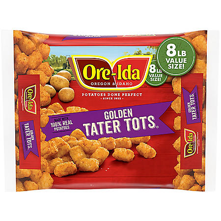 Ore-Ida Golden Tater Tots (8 lbs.)