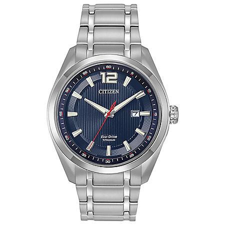 Citizen Eco-Drive Men's Titanium Grey-Tone Watch