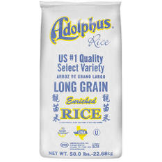 Adolphus Long Grain Enriched Rice (50 lb.)