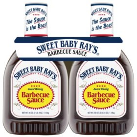 Sweet Baby Ray's Barbecue Sauce (40 oz., 2 pk.)