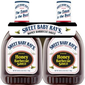 Sweet Baby Ray's Honey Barbecue Sauce (40 oz., 2 pk.)